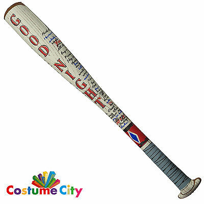Womens Official Suicide Squad Harley Quinn Inflatable Bat Fancy Dress Accessory