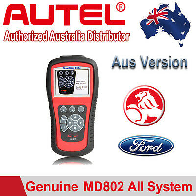 Autel MD802 All System DS model Diagnostic Scan Tool EPB Air bag SRS Transmision
