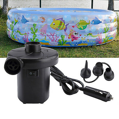 110V-240V Mains Electric Air Pump Inflator Airbed Pool Deflator Swimming Pool