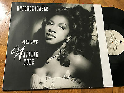 2 LP 1991  Natalie Cole ‎– Unforgettable With Love