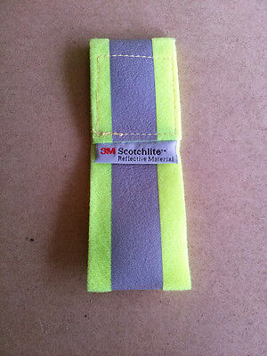 3M Scotchbrite Hi Vis Ankle & Arm band. Reflective Cycling & Rider Safety