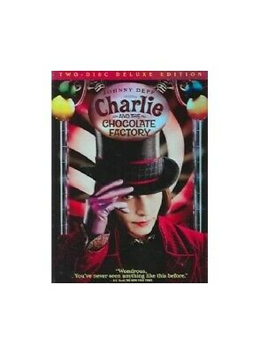 Charlie & The Chocolate Factory [DVD] [2005] [Region 1] [US Import... -  CD U4VG