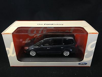 Minichamps Diecast Dealer Model Ford Galaxy Blue 1 43 Scale Boxed