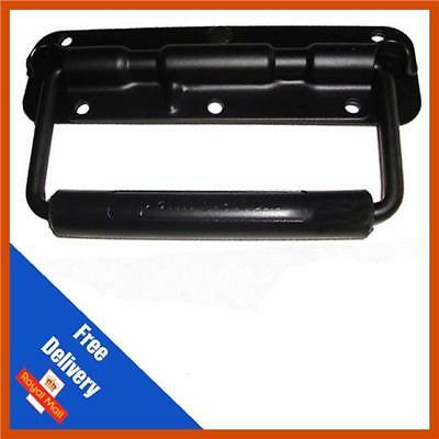 Black Sprung Drop Handle for Flight Case or Speaker Cabinet, Flight Cases