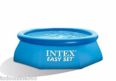 Piscina hinchable INTEX EASY SET 366x76 CM desmontable plástico CON DEPURADORA