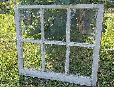 Vintage Sash Antique Wood Window Picture Frame Pinterest Wedding 6 Pane Country