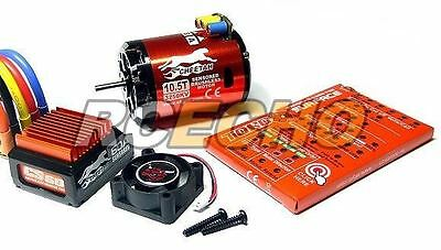 SKYRC CHEETAH 3250KV 10.5T Sensored Brushless Motor & CS60 60A ESC Combo ME645