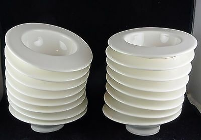 Eight Villeroy & Boch Bone China White Small Fruit Bowls - Home Elements