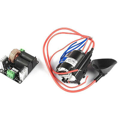 12v-36V ZVS Tesla coil flyback driver generator/Jacob's' ladder+ignition coil T8