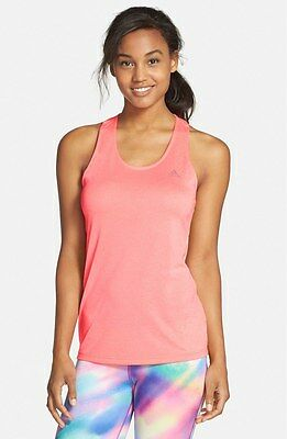 New! Woman's Pink Adidas Derby T-Back Tank S00463 Sz S 1812