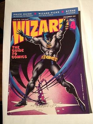 Wizard # 4 , Batman Cover