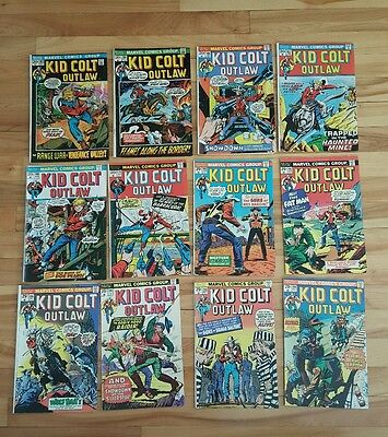Kid colt outlaw # 162,164,166, 167,169,175,183,192,194,196,198,199, low grade