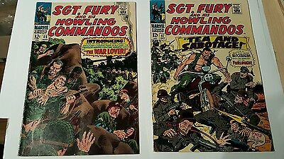 Sgt. Fury and his howling commandos #45,47
