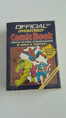 Official overstreet price guide companion  # 2