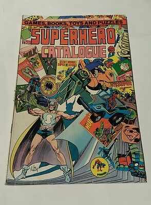 Superhero catalogue # 5 ,1977  ( cover A )
