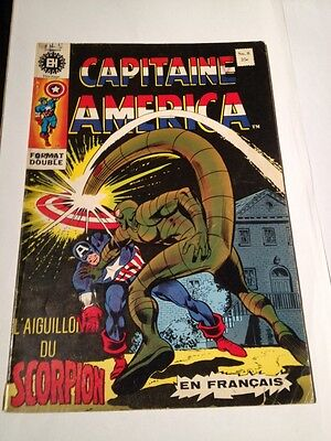 French Captain America # 8 Edition Heritage