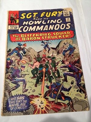 Sgt. Fury And His Howling Commandos # 14