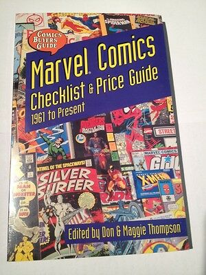 Marvel Comics Checklist  & Price Guide