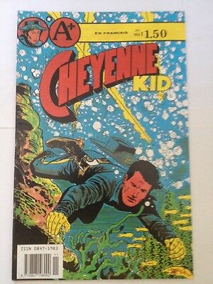 French Cheyenne Kid # 1 , 1989 A + Comics