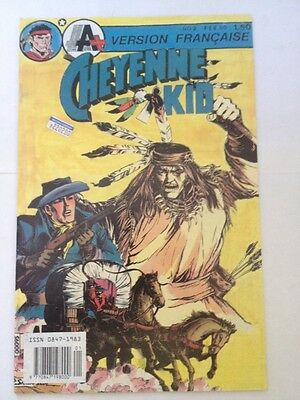 French Cheyenne Kid # 2,1990 A+ Comics