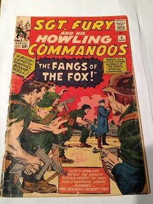 Sgt. Fury And His Howling Commandos # 6