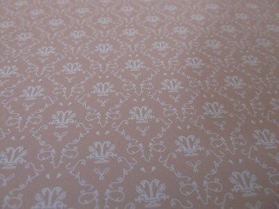 Dolls House Emporium Miniature 1:12 Scale Rose Toile Wallpaper