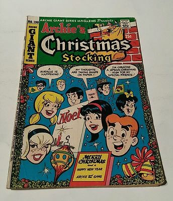 Archie's christmas stocking # 190 , giant series