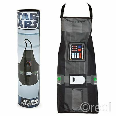 New Star Wars Darth Vader Costume Apron Kitchen BBQ Chef Retro Cooking Official
