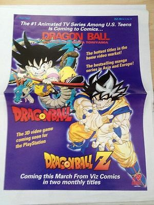 dragon ball z promo sheet 1997 viz-in vol. 9, # 12