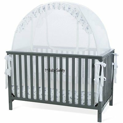 Baby Crib Safety Net Pop Up Tent - Never Recalled