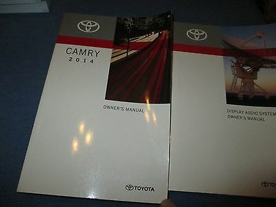 14 14 5 2014 2014 5 toyota camry owners manual 20 65 picclick rh picclick com 2012 camry owners manual 2013 camry owners manual pdf