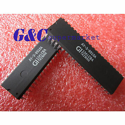 1/5PCS AY-3-8910A Programmable Sound Generator IC DIP40 NEW GOOD QUALITY D18