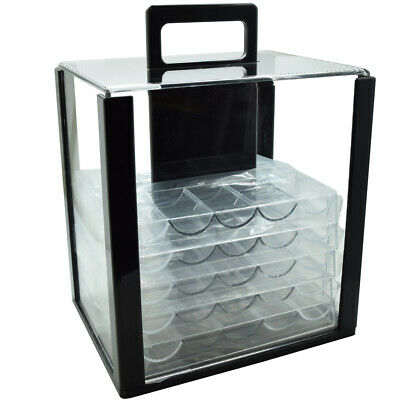 Caddy 1000 Poker Chip Carrier Caddy With 10 Chip Racks Holds 1000 Chips Storage*