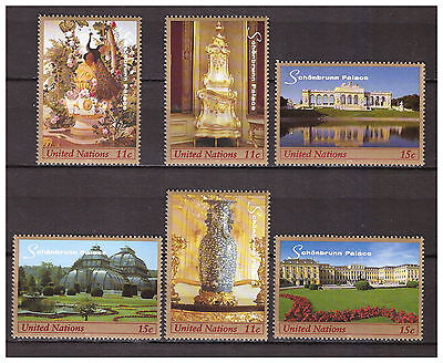 s9746) UNITED NATIONS (NY) MNH** 1998, Schonbrunn 6v from booklet