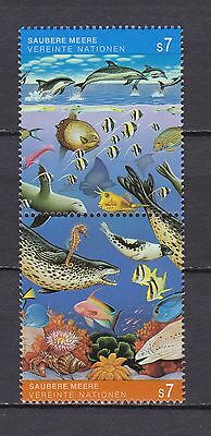 s10851) UNITED NATIONS (VIENNA WIEN) MNH** 1992, Clean oceans 2v