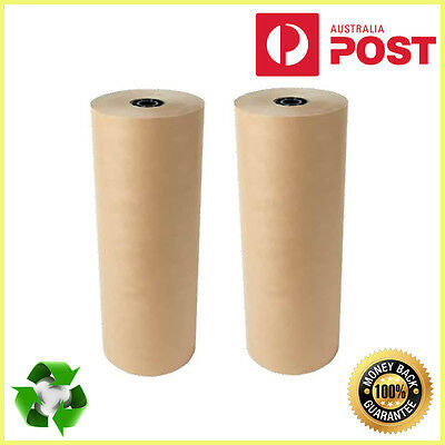 Kraft Brown New Packaging Paper Roll 900mm x 340m 65gsm- PREMIUM QUALITY
