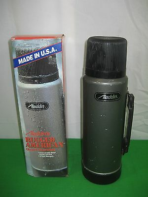 Vintage Stanley Aladdin's Rugged American Thermos Classic Vacuum 1 Qt Made USA