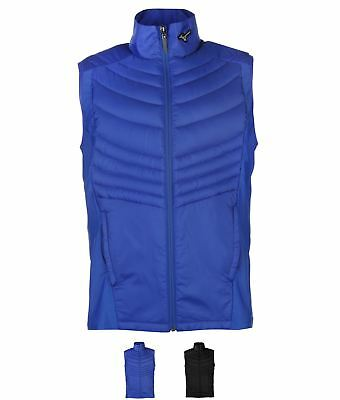 SALDI Mizuno Down Golf Gilet Mens Black