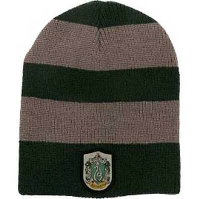 Harry Potter - Slytherin Slouch Beanie NEW Elope