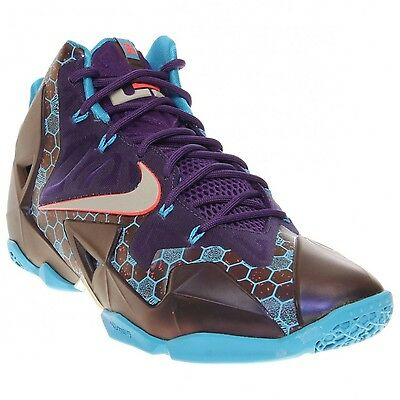 Nike Lebron XI 11 SUMMIT LAKE HORNETS Mens Basketball Shoes Size 11.5