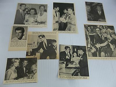 Hugh O'Brian  lot of  clippings #QY