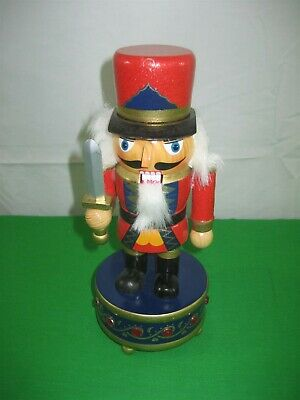 Music Box Toy Soldier Nutcracker Christmas Tune is Silent Night