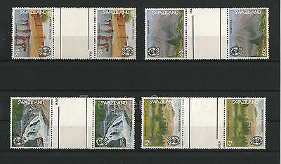 Swaziland 1991 National Heritage Gutter Pairs. MNH B1