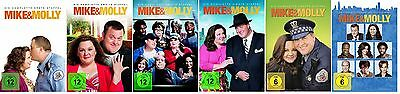 Mike & Molly Staffel 1-6 (1+2+3+4+5+6) DVD Set NEU Die komplette Serie (and,und)