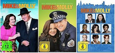 Mike & Molly - Season / Staffel 4-6 DVD Set * NEU OVP *(and,und) inkl. Staffel 6