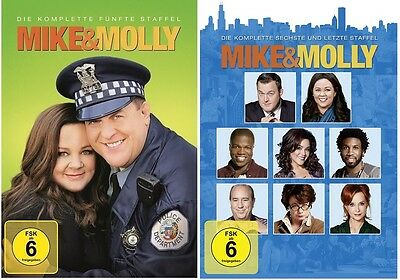 Mike & Molly - Season / Staffel 5+6 DVD Set * NEU OVP *(and,und) inkl. Staffel 6