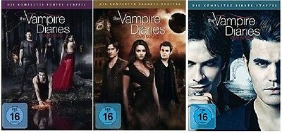 The Vampire Diaries - Season / Staffel 5-7 DVD Set * inkl. Staffel 7 * NEU OVP
