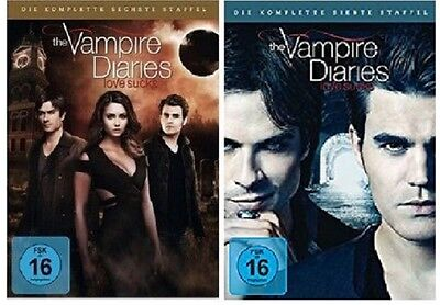The Vampire Diaries - Season / Staffel 6+7 DVD Set * inkl. Staffel 7 * NEU OVP