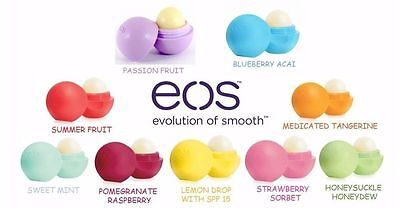 EOS Lip Balm Evolution Of Smooth Organic and 100% Natural All New Sealed