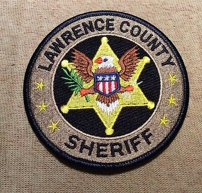 MS Lawrence County Mississippi Sheriff Patch